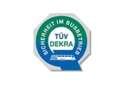 TÜV DEKRA - Sicherheit im Busbetrieb